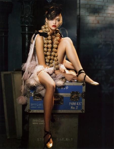 Gemma Ward for Vogue India 2007-2