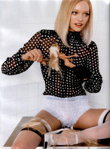 Gemma Ward for Vogue Paris - February 2005