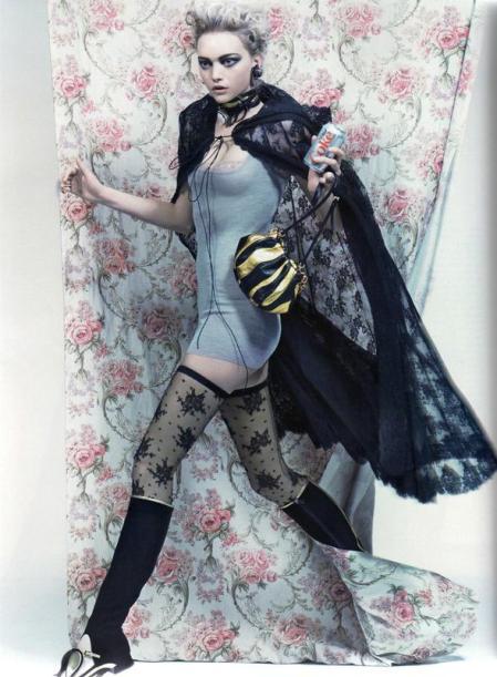 Gemma Ward in Vogue Paris - March 2008