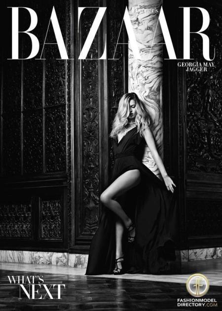 Georgia May Jagger for  Harper's Bazaar USA - November 2010