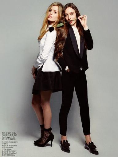 Georgia May Jagger for Vogue China Julq 2012