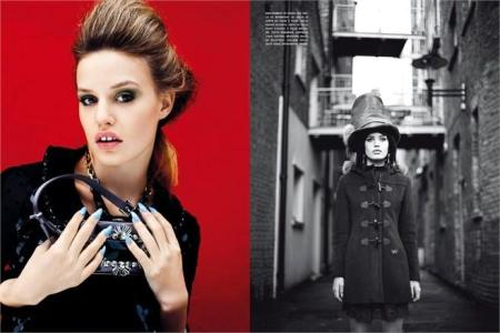 Georgia May Jagger for Vogue Italia August 2012