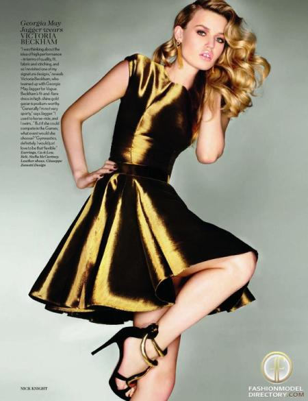 Georgia May Jagger for Vogue UK - September 2012