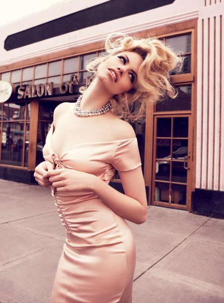 Hailey Clauson for Vogue Australia - Viva , Las Vegas - March 2012