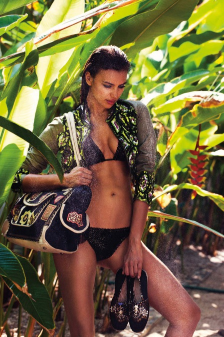 Irina Shayk for Agua Bendita 2013 Collection Full-001