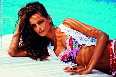 Izabel Goulart for Agua Bendita collection (Summer 2013) photoshoot