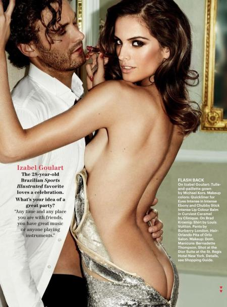 Izabel Goulart - Allure Magazin December 2012