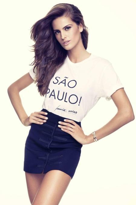 Izabel Goulart - amfAR São Paulo Campaign Spring 2013