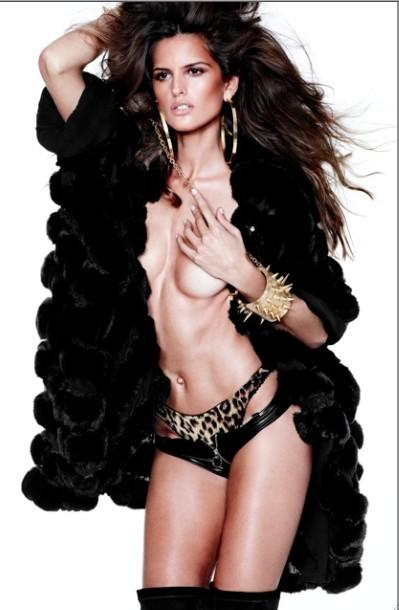 Izabel Goulart - Vogue Spain December 2012